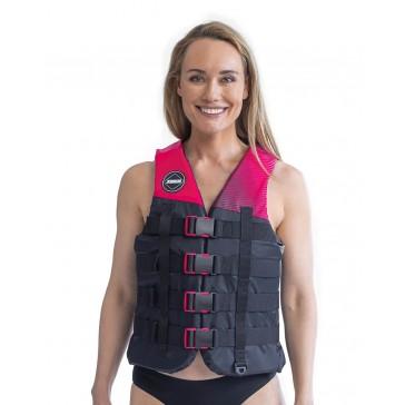 Jobe 4 Buckle Life Vest Hot Pink