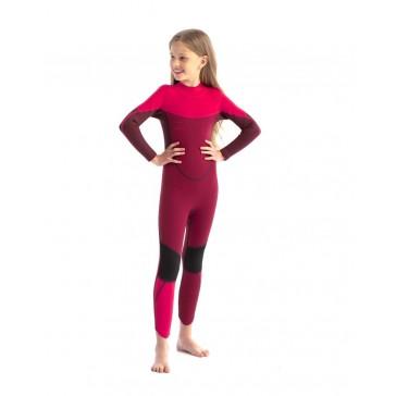 Jobe Boston 3/2mm Wetsuit Kids Hot Pink