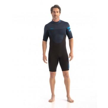 Jobe Perth 3/2mm Shorty Wetsuit Men Blue