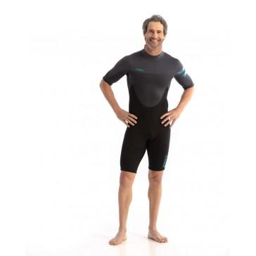 Jobe Perth 3/2mm Shorty Wetsuit Men Graphite Gray