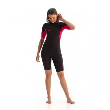 Jobe Sofia 3/2mm Shorty Wetsuit Women Hot Pink
